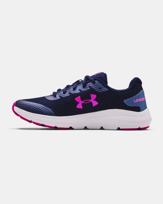 Grade School UA Surge 2 Running Shoes, Blue, pdpMainDesktop image number 1