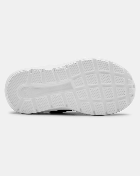 Infant UA Surge 2 AC Running Shoes, Black, pdpMainDesktop image number 4
