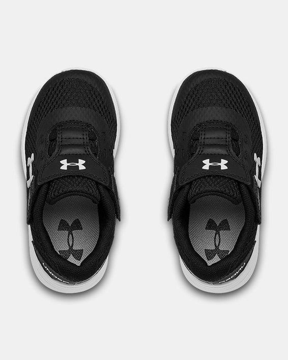 Infant UA Surge 2 AC Running Shoes, Black, pdpMainDesktop image number 2