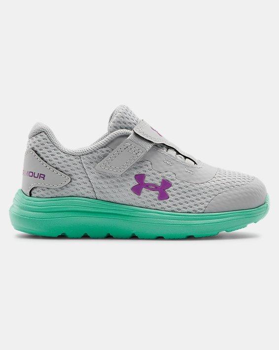 Infant UA Surge 2 AC Running Shoes, Green, pdpMainDesktop image number 0