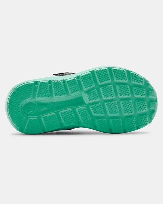 Infant UA Surge 2 AC Running Shoes, Green, pdpMainDesktop image number 4