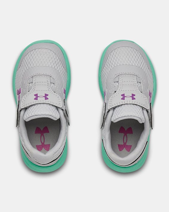 Infant UA Surge 2 AC Running Shoes, Green, pdpMainDesktop image number 2