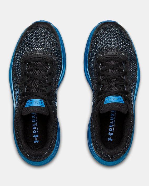 Grade School UA Liquify Running Shoes, Black, pdpMainDesktop image number 3