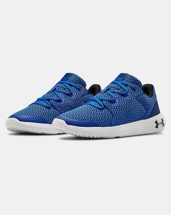 Grade School UA Ripple 2.0 NM Sportstyle Shoes, Blue, pdpMainDesktop image number 4