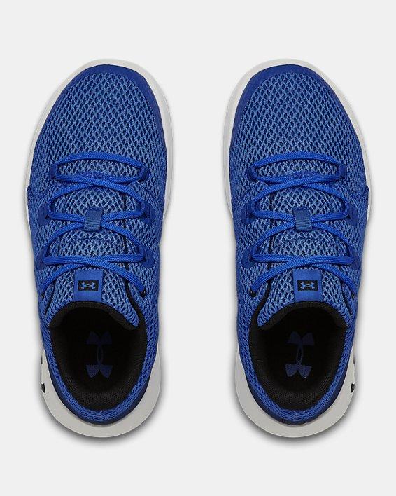 Grade School UA Ripple 2.0 NM Sportstyle Shoes, Blue, pdpMainDesktop image number 3