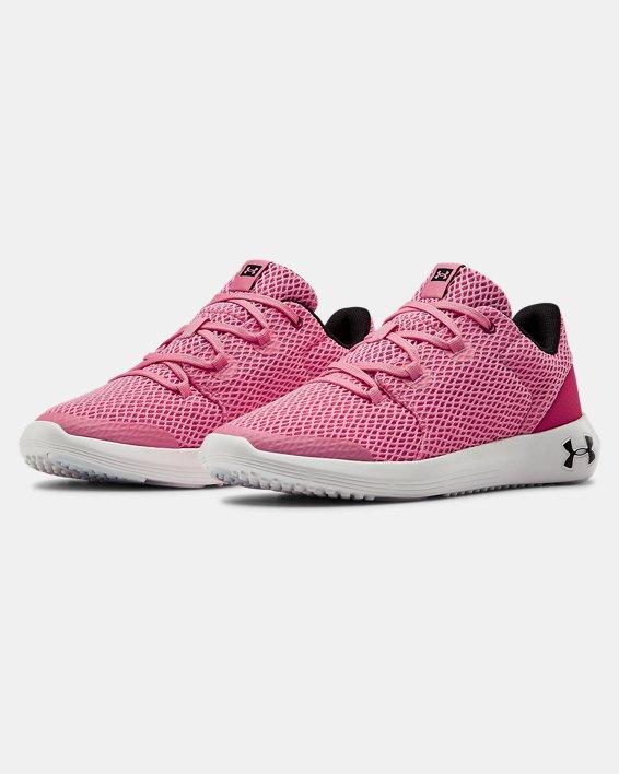 Grade School UA Ripple 2.0 NM Sportstyle Shoes, Pink, pdpMainDesktop image number 4