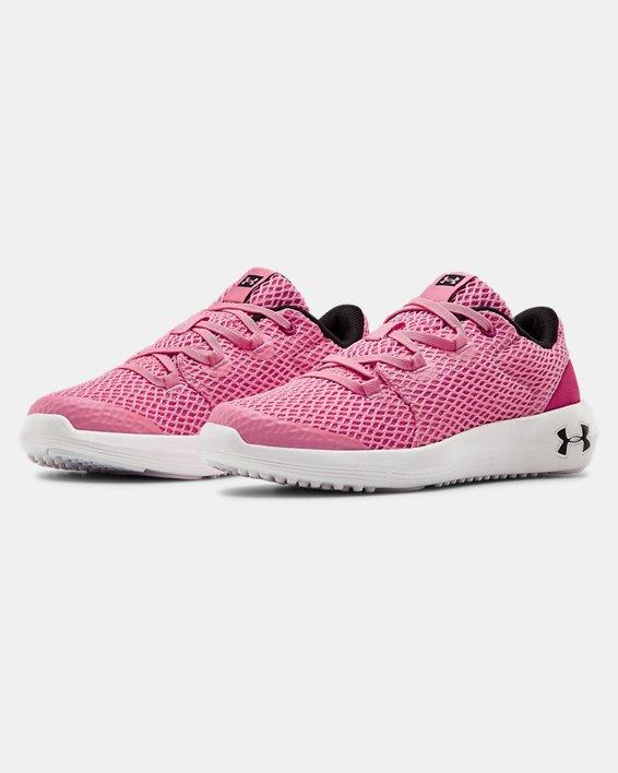 Pre-School UA Ripple 2.0 AL NM Sportstyle Shoes, Pink, pdpMainDesktop image number 4