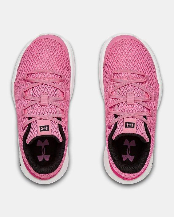 Pre-School UA Ripple 2.0 AL NM Sportstyle Shoes, Pink, pdpMainDesktop image number 3