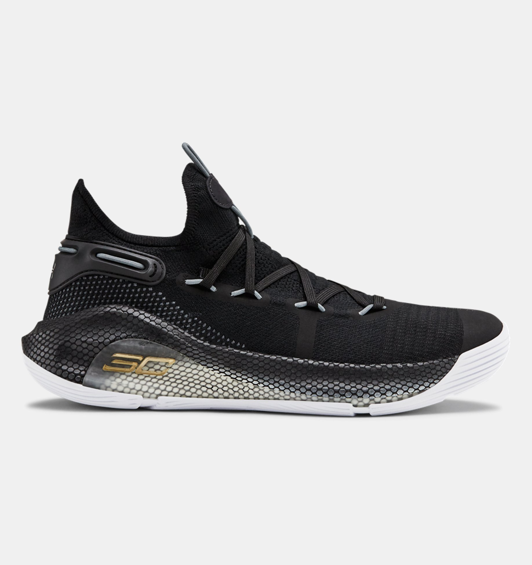 UA Curry 6 Team Basketball Shoes, Black, pdpZoomDesktop image number 0