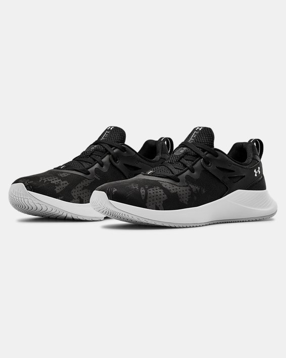 Women's UA Charged Breathe TR 2+ Training Shoes, Black, pdpMainDesktop image number 4