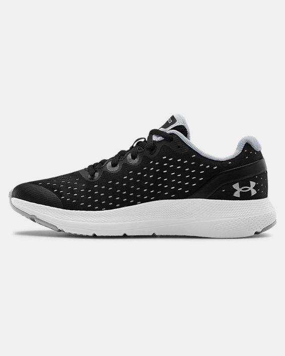 Grade School UA Charged Impulse Running Shoes, Black, pdpMainDesktop image number 1