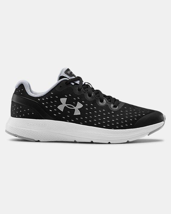 Grade School UA Charged Impulse Running Shoes, Black, pdpMainDesktop image number 0