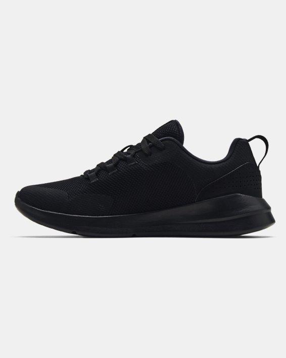 Men's UA Essential Sportstyle Shoes, Black, pdpMainDesktop image number 1