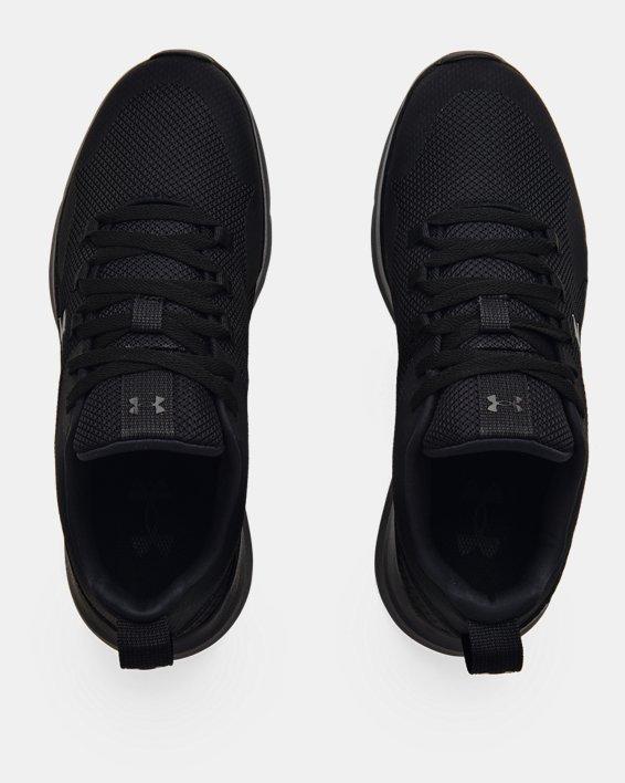 Men's UA Essential Sportstyle Shoes, Black, pdpMainDesktop image number 2
