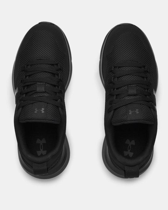 Women's UA Essential Sportstyle Shoes, Black, pdpMainDesktop image number 2