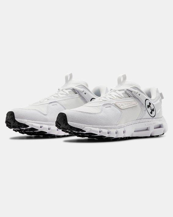 Unisex UA HOVR™ Summit LOGO Sportstyle Shoes, White, pdpMainDesktop image number 3