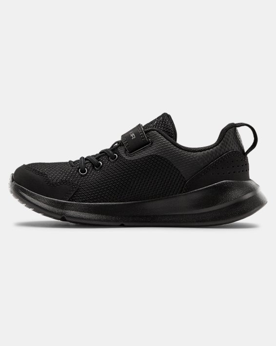 Boys' Pre-School UA Essential, Black, pdpMainDesktop image number 1