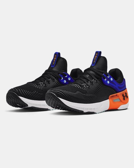 Men's UA HOVR™ Apex 2 Training Shoes, Black, pdpMainDesktop image number 3