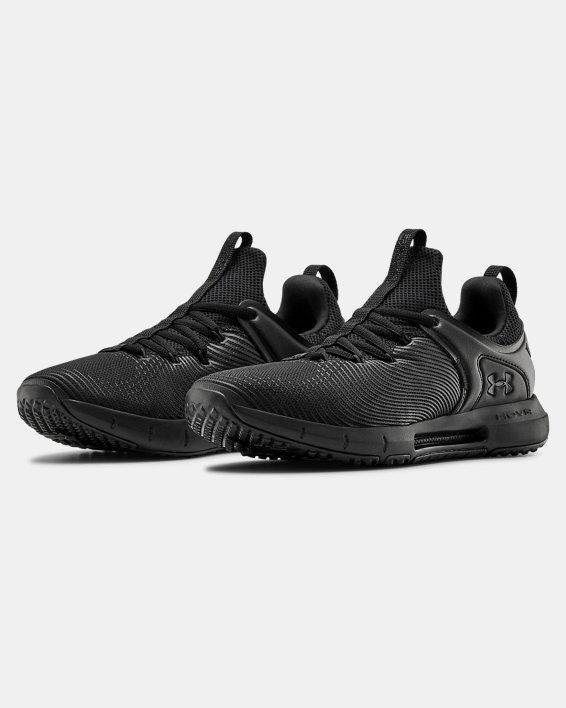 Women's UA HOVR™ Rise 2 Training Shoes, Black, pdpMainDesktop image number 3
