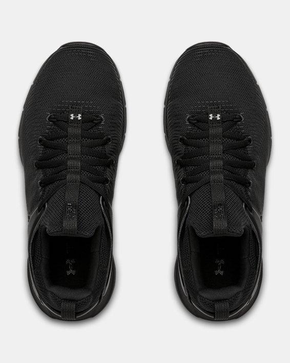 Women's UA HOVR™ Rise 2 Training Shoes, Black, pdpMainDesktop image number 2
