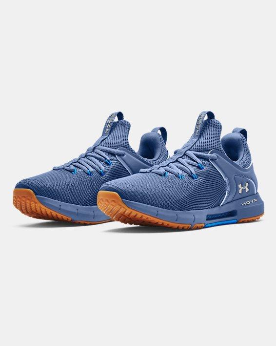 Chaussures d'entraînement UA HOVR™ Rise 2 pour femme, Blue, pdpMainDesktop image number 3
