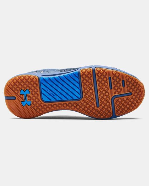Chaussures d'entraînement UA HOVR™ Rise 2 pour femme, Blue, pdpMainDesktop image number 4