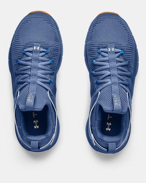 Chaussures d'entraînement UA HOVR™ Rise 2 pour femme, Blue, pdpMainDesktop image number 2