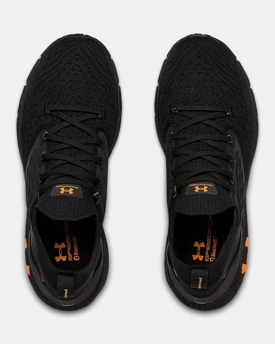 Men's UA HOVR™ Phantom 2 Running Shoes, Black, pdpMainDesktop image number 2