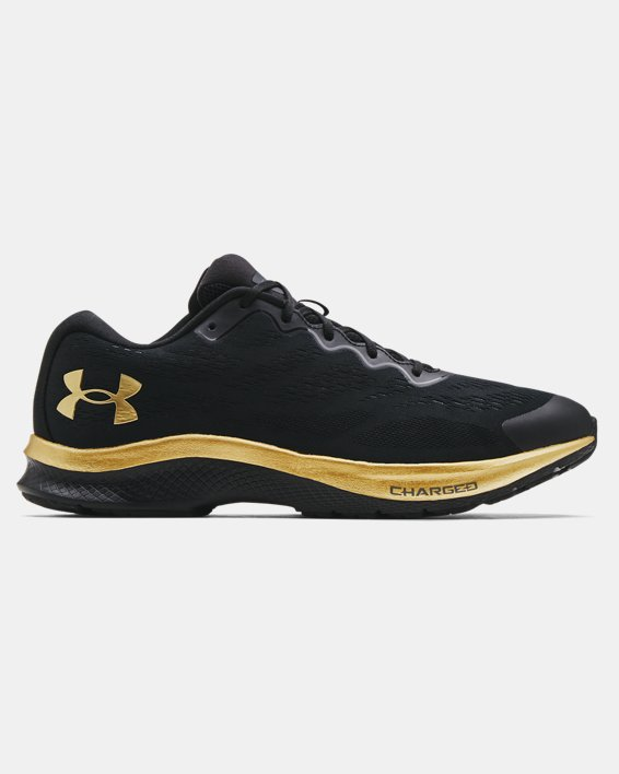 Men's UA Charged Bandit 6 Running Shoes, Black, pdpMainDesktop image number 0