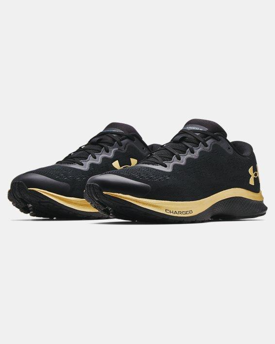 Men's UA Charged Bandit 6 Running Shoes, Black, pdpMainDesktop image number 3