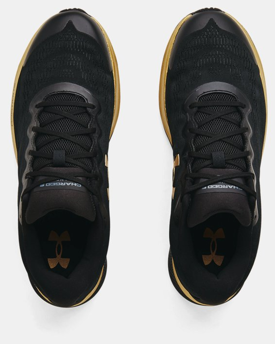 Men's UA Charged Bandit 6 Running Shoes, Black, pdpMainDesktop image number 2
