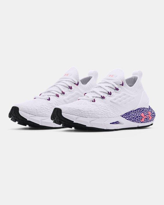 Women's UA HOVR™ Phantom 2 Running Shoes, White, pdpMainDesktop image number 3