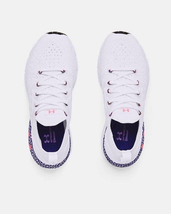 Women's UA HOVR™ Phantom 2 Running Shoes, White, pdpMainDesktop image number 2