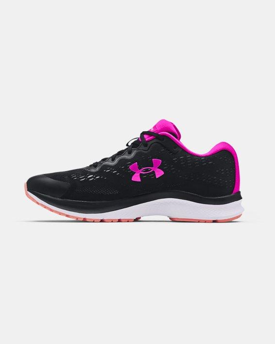 Women's UA Charged Bandit 6 Running Shoes, Black, pdpMainDesktop image number 1