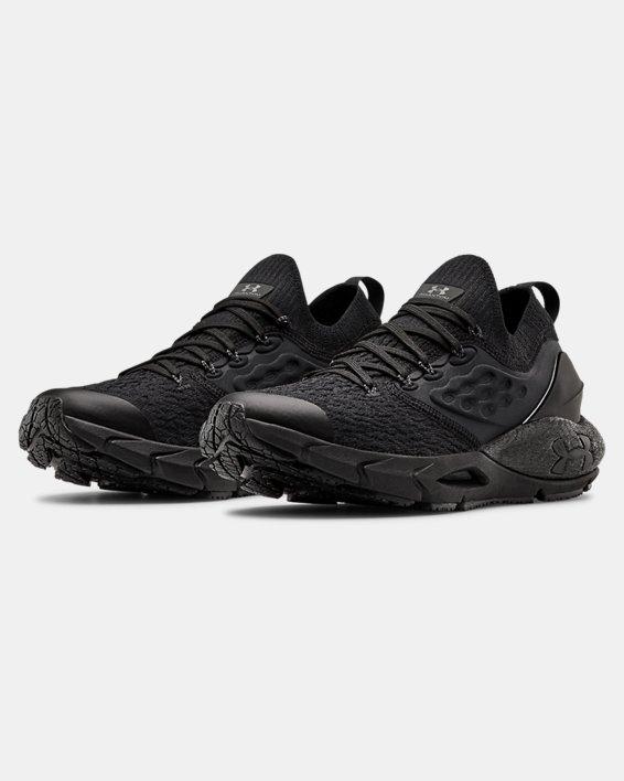 Boys' Grade School UA HOVR™ Phantom 2 Running Shoes, Black, pdpMainDesktop image number 3