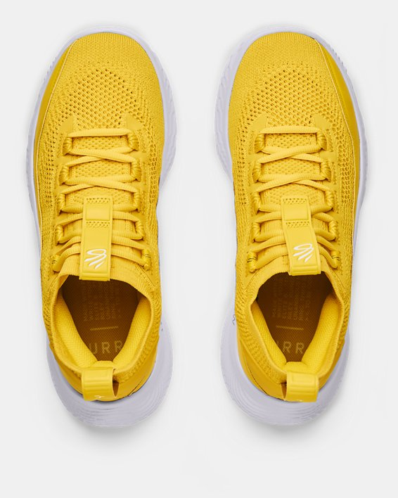 Curry Flow 8 Basketball Shoes, Yellow, pdpMainDesktop image number 2