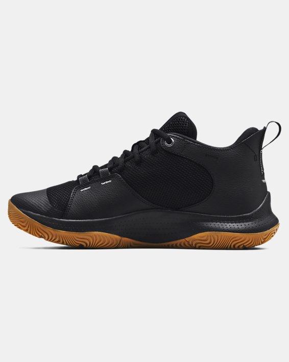 Unisex UA 3Z5 Basketball Shoes, Black, pdpMainDesktop image number 1