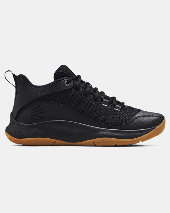 Unisex UA 3Z5 Basketball Shoes, Black, pdpMainDesktop image number 0