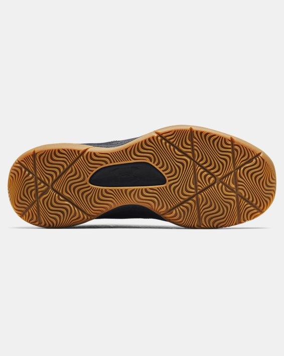 Unisex UA 3Z5 Basketball Shoes, Black, pdpMainDesktop image number 4