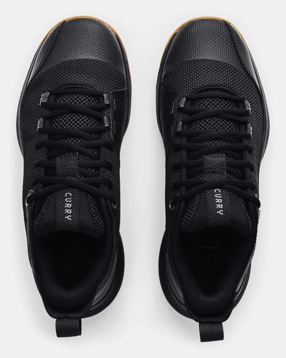 Unisex UA 3Z5 Basketball Shoes, Black, pdpMainDesktop image number 2