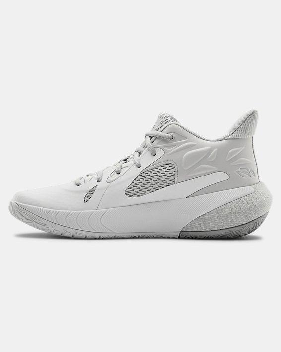 UA HOVR™ Havoc 3 Basketball Shoes, White, pdpMainDesktop image number 1