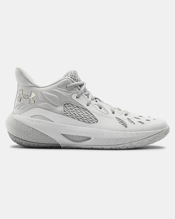 UA HOVR™ Havoc 3 Basketball Shoes, White, pdpMainDesktop image number 0