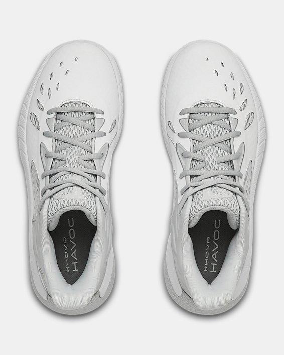 UA HOVR™ Havoc 3 Basketball Shoes, White, pdpMainDesktop image number 2