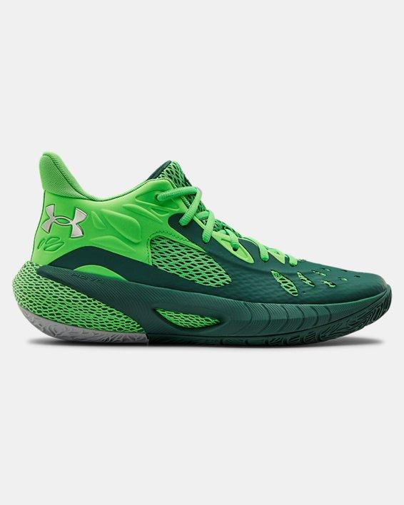 UA HOVR™ Havoc 3 Basketball Shoes, Green, pdpMainDesktop image number 0