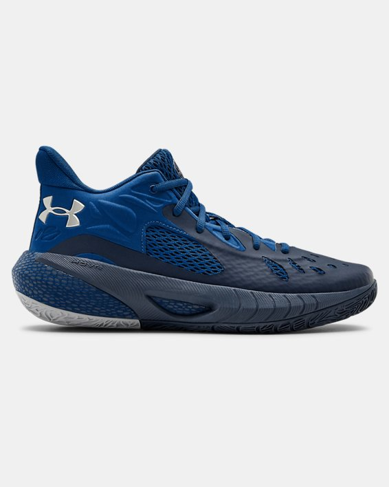 UA HOVR™ Havoc 3 Basketball Shoes, Navy, pdpMainDesktop image number 0