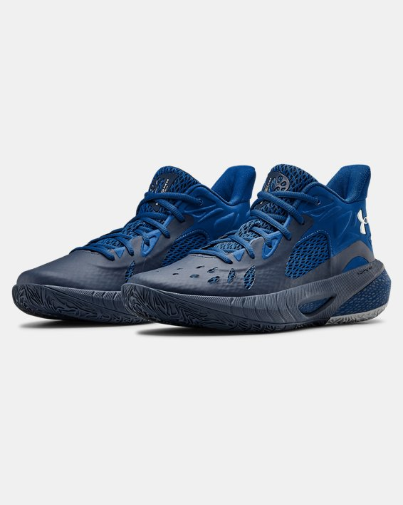 UA HOVR™ Havoc 3 Basketball Shoes, Navy, pdpMainDesktop image number 3