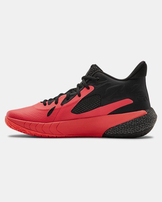 UA HOVR™ Havoc 3 Basketball Shoes, Red, pdpMainDesktop image number 1