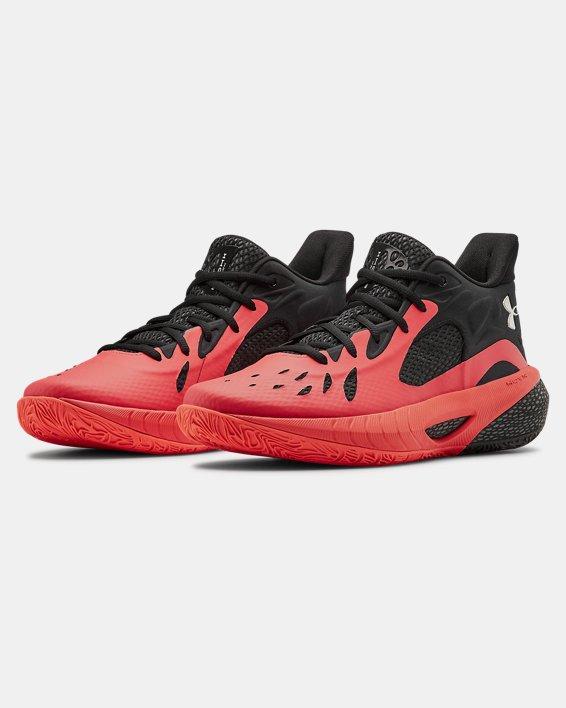 UA HOVR™ Havoc 3 Basketball Shoes, Red, pdpMainDesktop image number 3