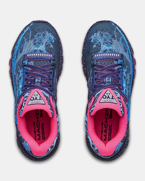 Women's UA HOVR™ Machina TKO Running Shoes, Blue, pdpMainDesktop image number 3