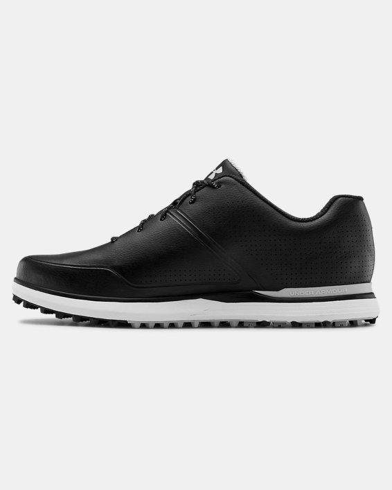 Men's UA AG Medal SL Wide E Golf Shoes, Black, pdpMainDesktop image number 1